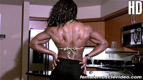 Female Muscle Video - Tierany Chretien - Download and keep