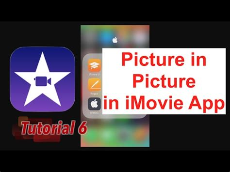 Apply a Picture in Picture in iMovie App 2