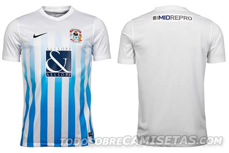 Coventry City FC Nike 2016-17 Home Kit