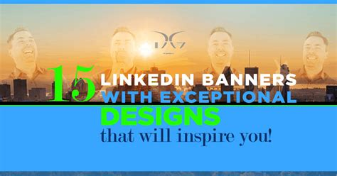 15 LinkedIn Cover Banners with Outstanding Designs That