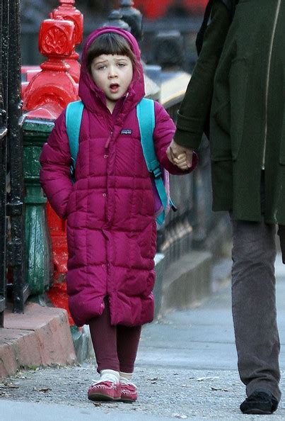 Maggie Gyllenhaal And Family Walk To Schoo   Celeb Baby