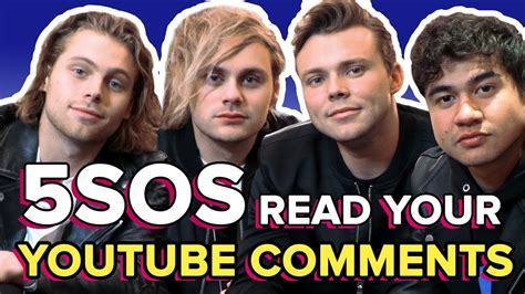 5SOS Read Your Weird AF YouTube Comments   PopBuzz Meets