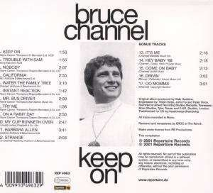 Bruce Channel: Keep On (CD) – jpc