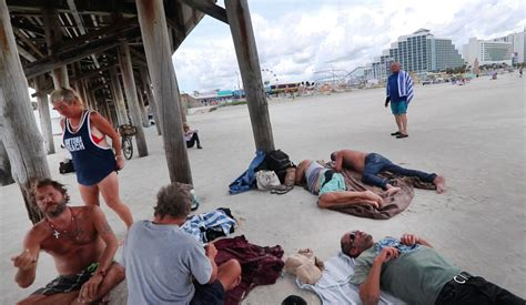 Pushed from parks, homeless end up under Daytona's pier