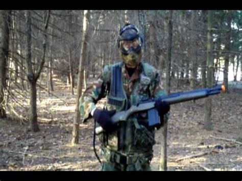 Woodland Airsoft Loadout - YouTube