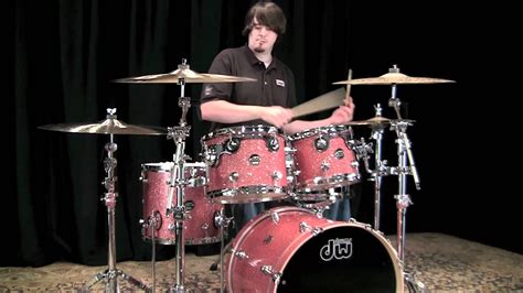 DW Performance Series Maple Drum Set - Pink Cadillac (MDS