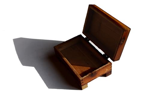 Free picture: wooden box, small, hinged lid