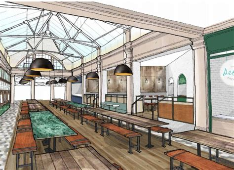 Six New Food Halls, Including the UK's Biggest, Planned