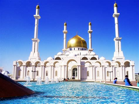 Nur-Astana Mosque ~ Best walpapers for you!
