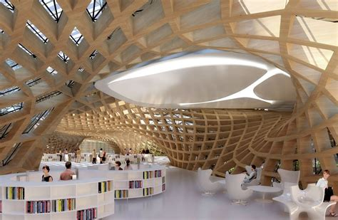 """Gallery of Vincent Callebaut Proposes """"Wooden Orchids"""