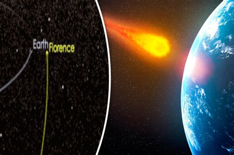 Earth asteroid: Three mile wide space rock set to narrowly