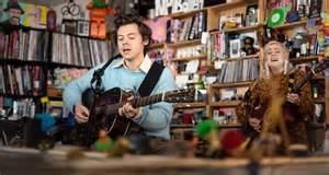 Watch Harry Styles' NPR Tiny Desk Concert   The FADER