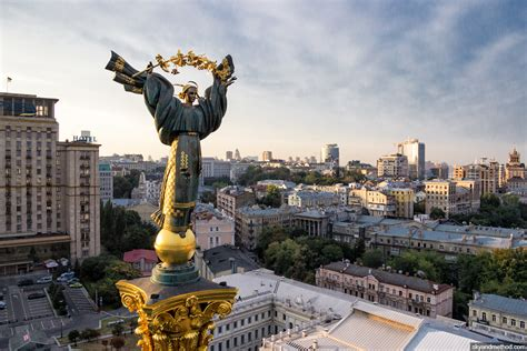 Restored Independence Square – the heart of Ukrainian