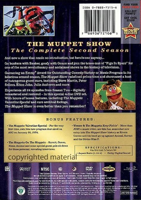Muppet Show, The: Season Two (DVD 1977)   DVD Empire