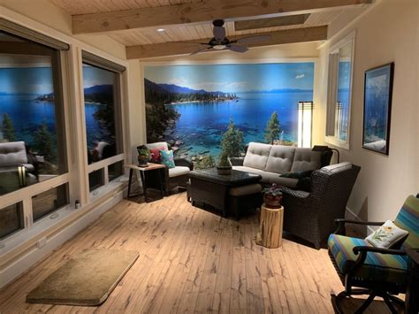 Newly Built Reno Sunroom Gets Fitted With Breathtaking