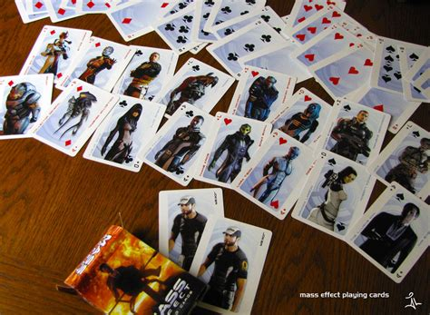 Playing Cards and Games: Mass Effect Playing Cards by Dark